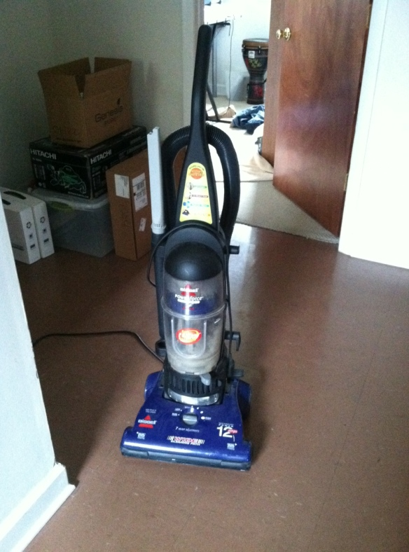Gumball 1-  After months without a proper vacuum, I purchased Lucy from Goodwill for $10.  Best investment ever.